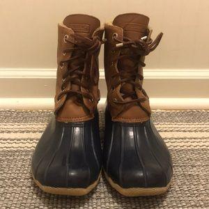 Women's Sperry Saltwater Duck Boots, Size 9